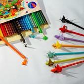 фото: Канцелярские товары (карандаши с украшениями)