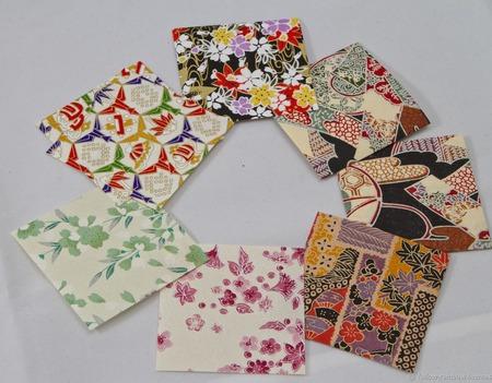 Эксклюзивные кулоны с журавликами-оригами (большие) ручной работы на заказ