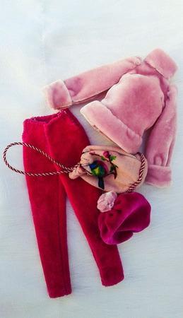 """""""Розовый свет"""" - комплект для барби ручной работы на заказ"""