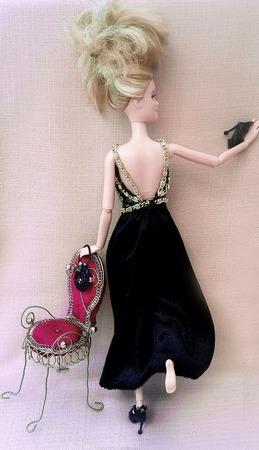 """Вечернее платье """"Афина"""" ручной работы на заказ"""