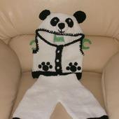 Жилет и штанишки Мишка-панда
