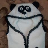 Безрукавка  мишка-панда