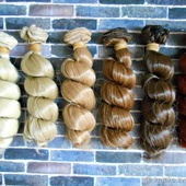 Волосы. Трессы для кукол (разные)