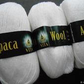 Пряжа Vita Alpaca Wool. Разные цвета