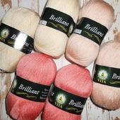 Пряжа Vita Brilliant. Разные цвета
