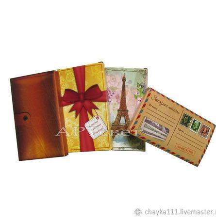 Подарочные коробочки 5 видов. Упаковка. ручной работы на заказ
