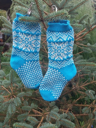 Носки скандинавские ручной работы на заказ