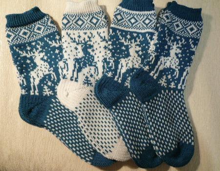 Носочки для всей семьи ручной работы на заказ