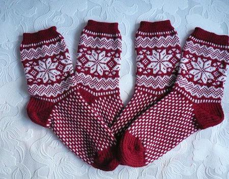Носки Рождественские ручной работы на заказ