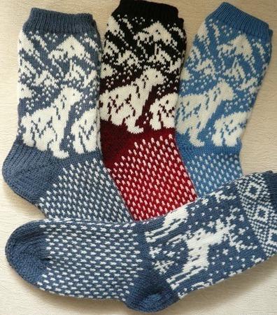"""Носки """"Любимым ножкам"""" ручной работы на заказ"""