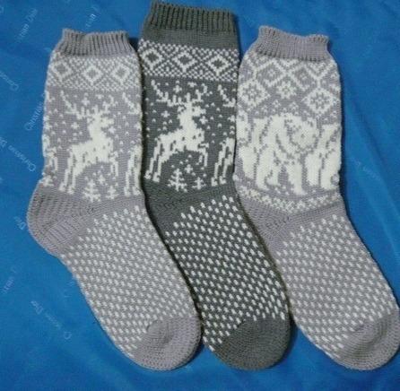 """Носки """"медведи"""" ручной работы на заказ"""