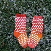 Носки в горошек