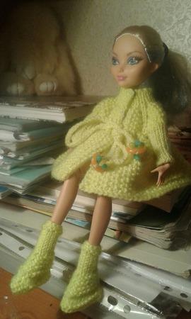 Пальто для кукол ручной работы на заказ