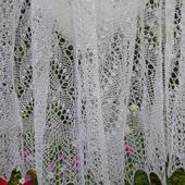 Ажурный шарф палантин Сильвия