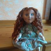 Текстильная кукла ручной работы.Катерина.