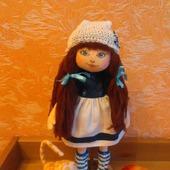 Текстильная кукла Морская девочка