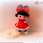 Куколка мышка-малышка