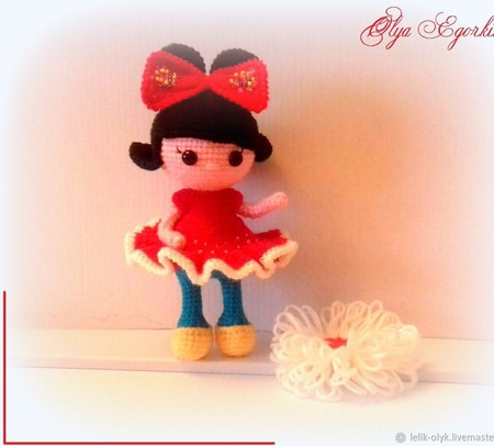 Куколка мышка-малышка ручной работы на заказ