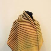Полосатый шерстяной шарф