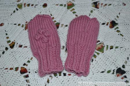 Варежки для малыша ручной работы на заказ
