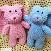 фото: Куклы и игрушки (зефирный зайчик)