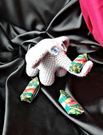 Слоник амигуруми вязанный крючком. Мягкая игрушка крючком ручной работы на заказ