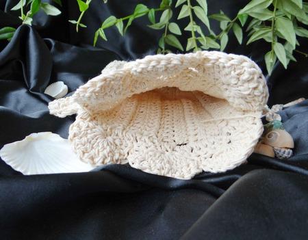 Льняная натуральная мочалка-варежка Рыбка. Вязаная игрушка для ванны. ручной работы на заказ
