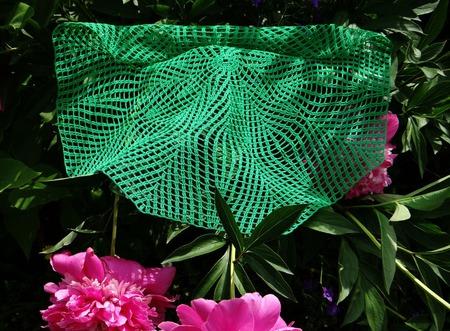 Декоративная салфетка Папоротник вязанная крючком. Аксессуар для дома ручной работы на заказ