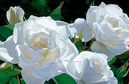 Вязаная салфетка Филейные розы. Мини-скатерть, украшение для дома ручной работы на заказ