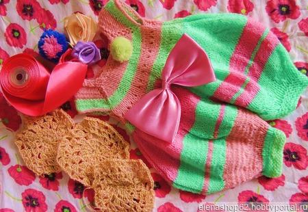 Комбинезон для куклы ручной работы на заказ