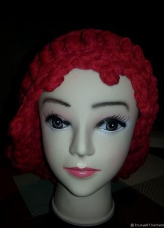 Снуд-шапка ручной работы на заказ