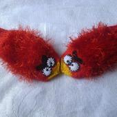 Рукавички . Angry birds
