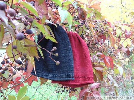 Описание шапки Милли ручной работы на заказ