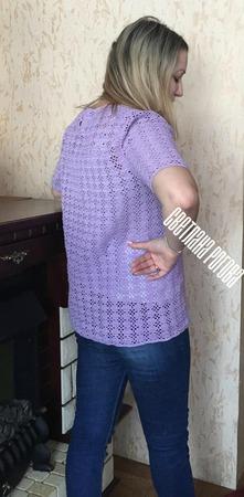 Кофточка летняя ручной работы на заказ