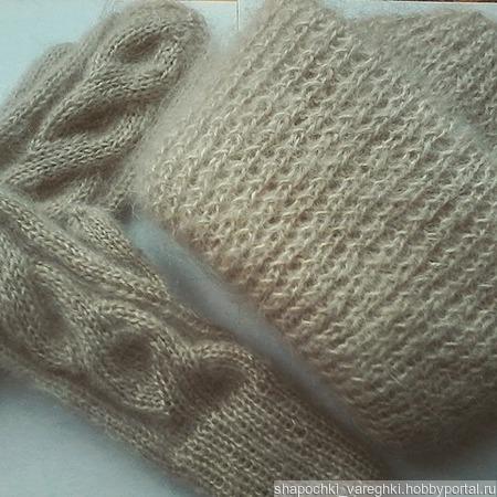 Мохеровая шапка ручной работы ручной работы на заказ