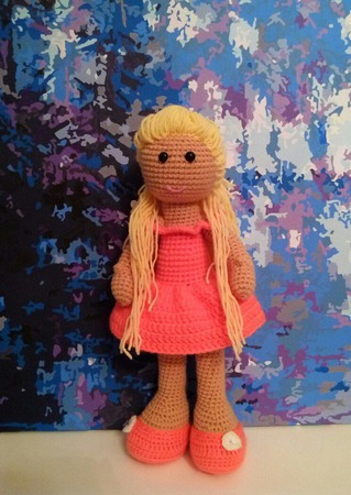 Куколка. Вязаная кукла. ручной работы на заказ