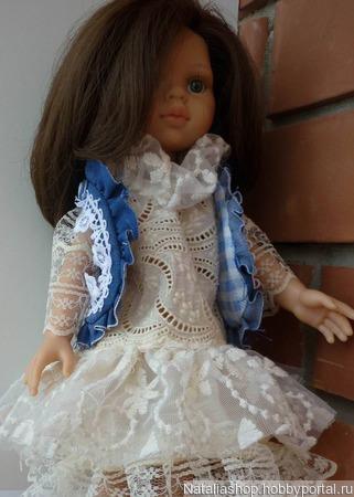 Нарядный комплект для куклы паола рейна ручной работы на заказ