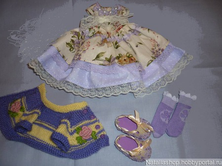 Платье нарядное, кофточка и туфельки ручной работы на заказ