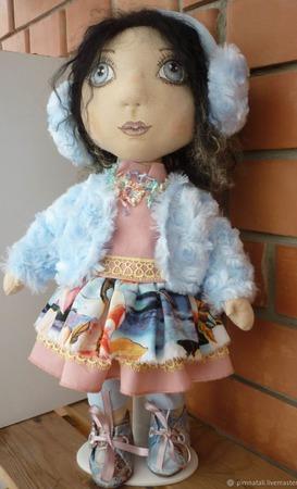 Авторская интерьерная кукла ручной работы на заказ