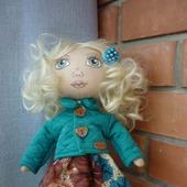 Текстильная кукла. А зовут меня Очаровашка