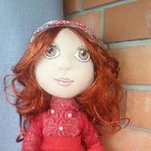 Текстильная кукла. Краса-девица...