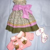 Платье, кофта туфли  для паолочки