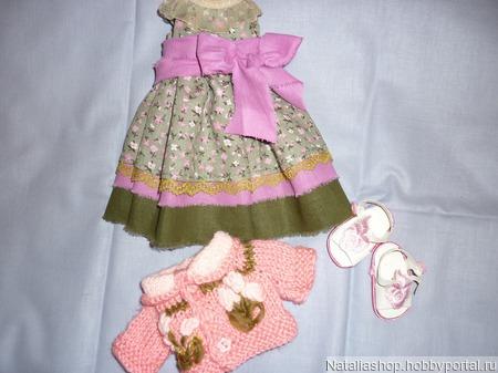 Платье, кофта туфли  для паолочки ручной работы на заказ