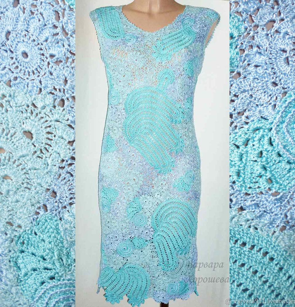 кружевное вязаное платье купить в интернет магазине Hobbyportalru