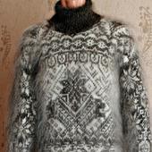 """Пуховый свитер """"Полярная звезда"""""""