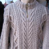 Мужской свитер из альпаки