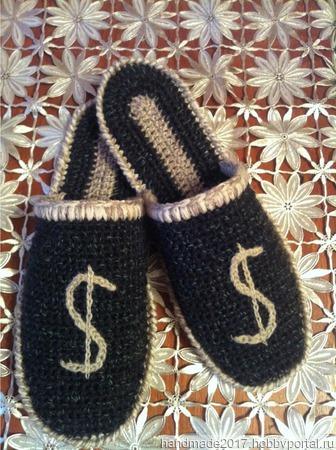 Тапочки ручной работы на заказ