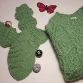 Комплект детский джемпер и носочки