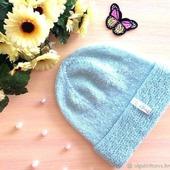 "Шапка вязаная ""Frost"", вязаная  шапочка, вязаная шапка женская"