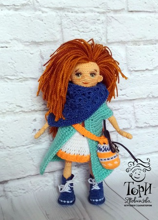 Кукла Лизавета игрушка ручной работы на заказ